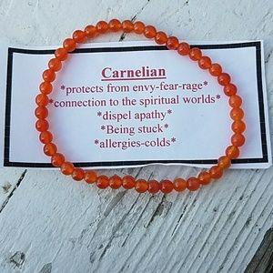 Jewelry - Carnelian stretch bracelet